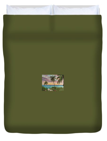 Tropical Paradise Duvet Cover