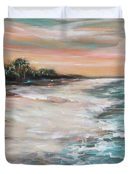 Tropical Shore Duvet Cover