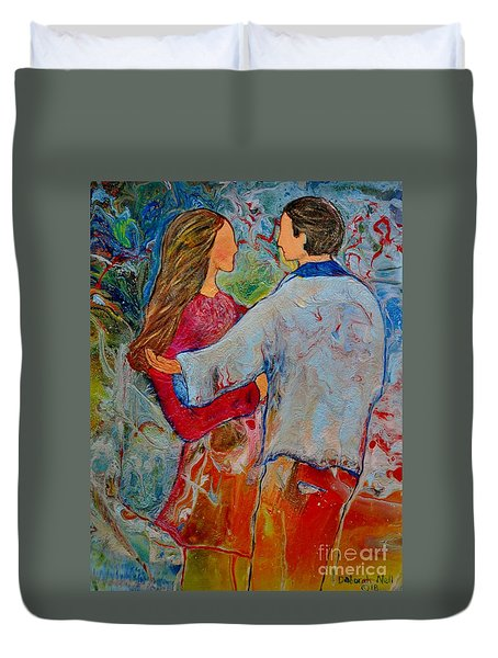 Trusting You Duvet Cover