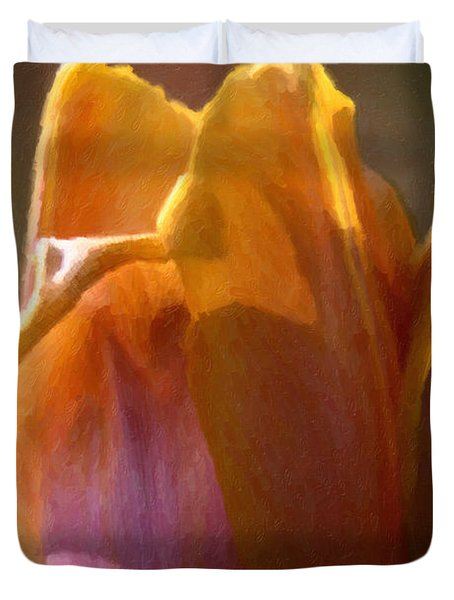 Tulip Duvet Cover by Andre Faubert