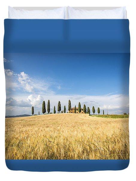 Tuscan Villa Duvet Cover