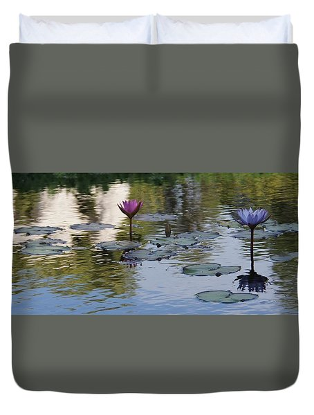 Twins Duvet Cover by David and Lynn Keller