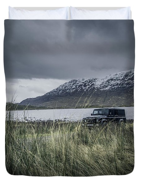 Twisted Land Rover Defender Duvet Cover