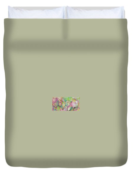 Two Lips Duvet Cover