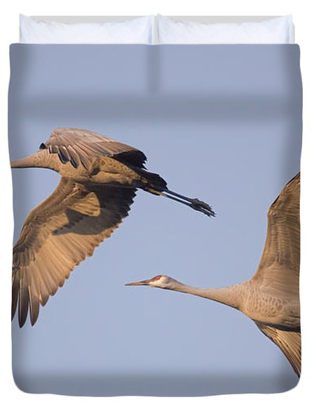 Two Together Duvet Cover by Wanda Krack