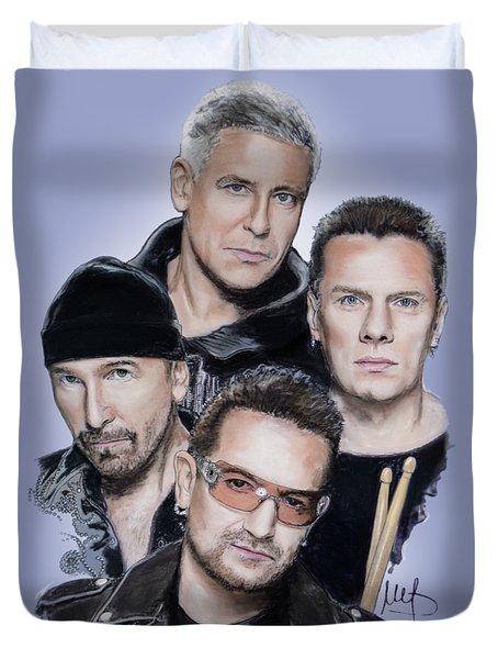 U2 Duvet Cover
