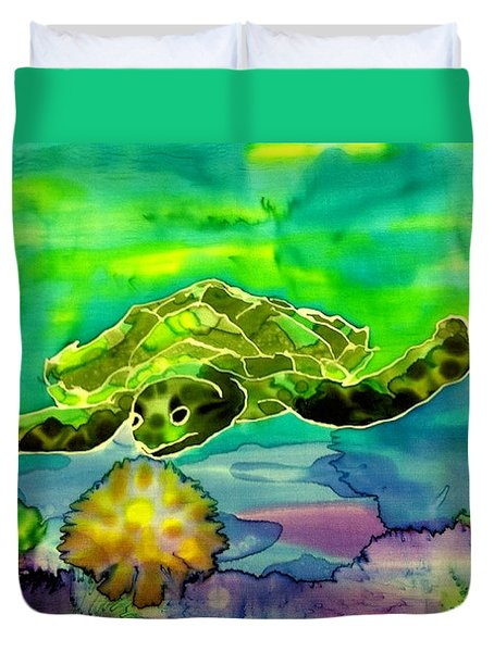 Under The Sea Duvet Cover by Beverly Johnson