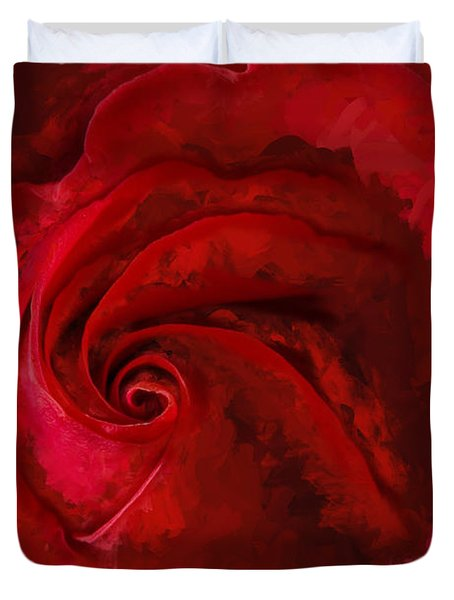 Unfurling Beauty Iv Duvet Cover