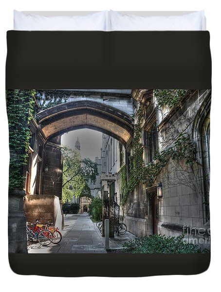 University Of Chicago Duvet Cover