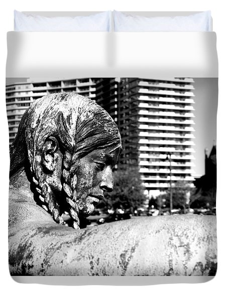 Duvet Cover featuring the photograph Untitled by Dorin Adrian Berbier