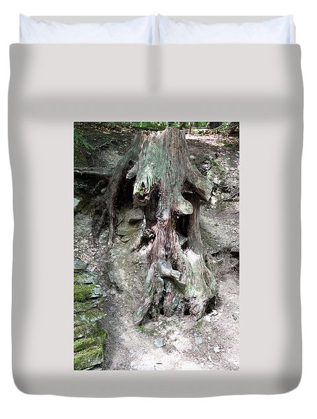 Unusual Tree Root Duvet Cover