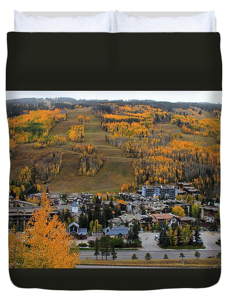 Vail Colorado Duvet Cover