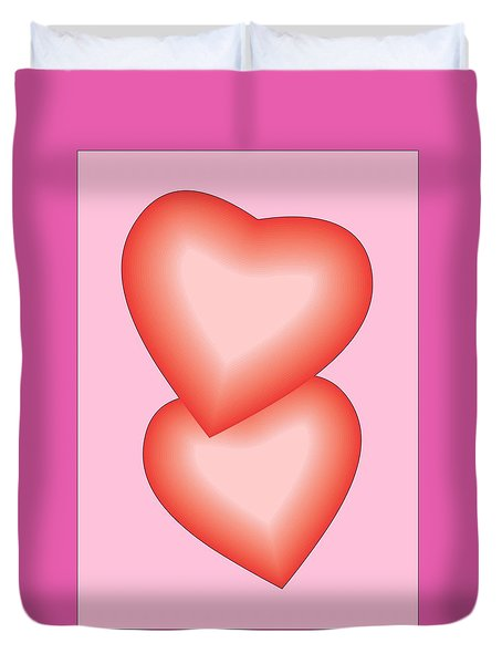 Valentine Hearts Duvet Cover