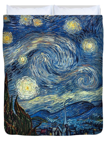 Van Gogh Starry Night Duvet Cover