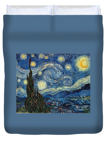 Van Gogh Starry Night Duvet Cover