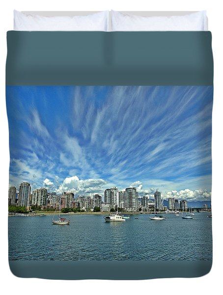 Vancouver British Columbia Duvet Cover