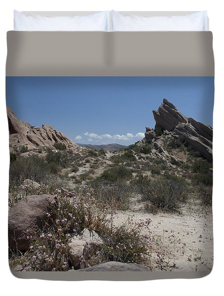 Vasquez Rocks Duvet Cover by Ivete Basso Photography