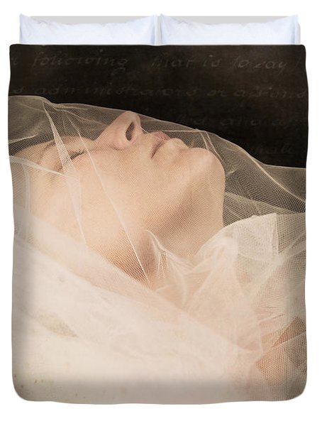 Veiled Duvet Cover