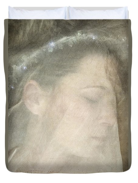 Veiled Princess Duvet Cover