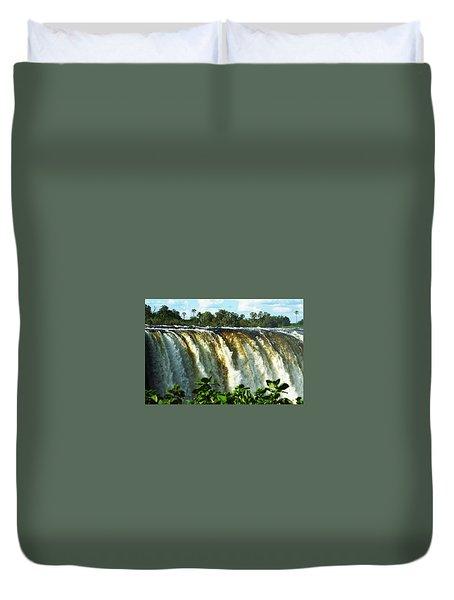 Victoria Falls Duvet Cover