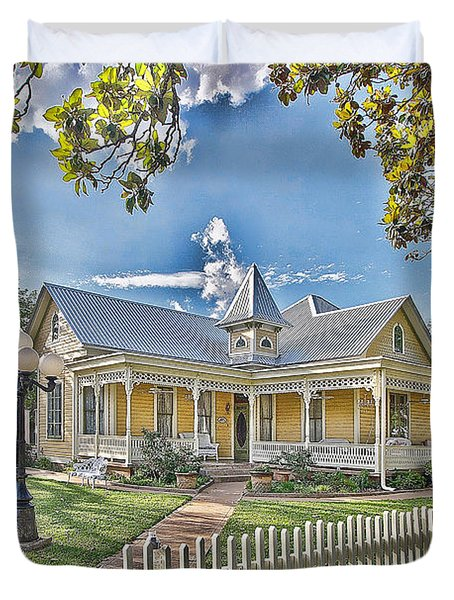 Victorian Sunday House Duvet Cover