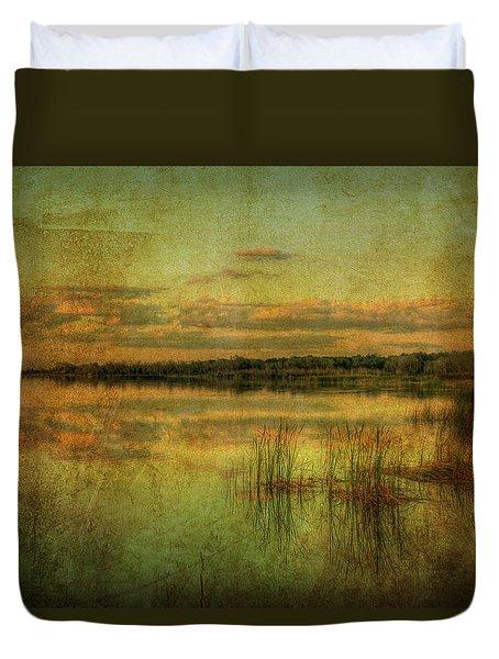 Vintage Florida Duvet Cover