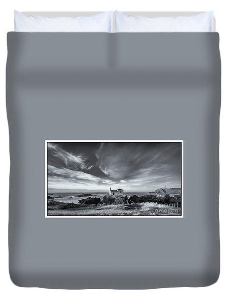 Duvet Cover featuring the photograph Virxe Do Porto Meiras Galicia Spain by Pablo Avanzini