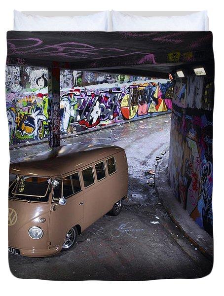 Volkswagen Microbus Duvet Cover