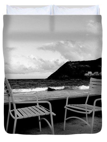 Waiting Duvet Cover by Ian  MacDonald