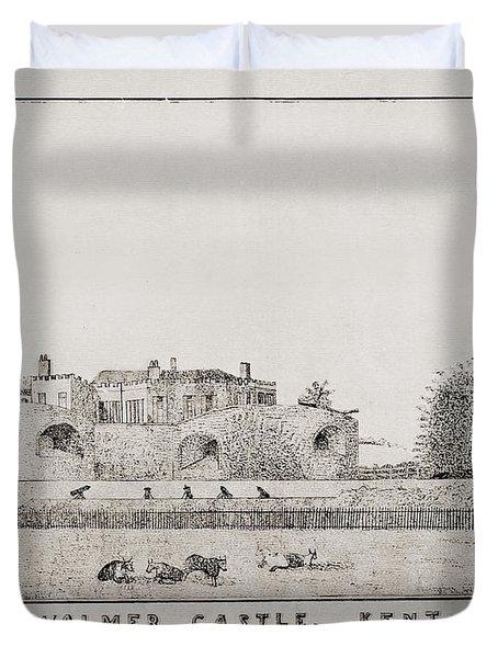 Walmer Castle Kent Duvet Cover