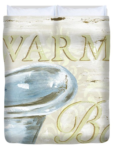 Warm Bath 2 Duvet Cover