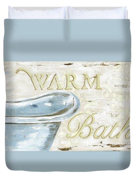 Warm Bath 2 Duvet Cover