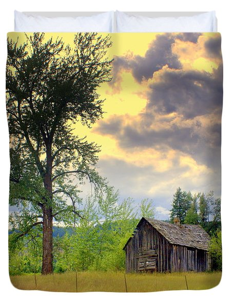 Washington Homestead Duvet Cover by Marty Koch