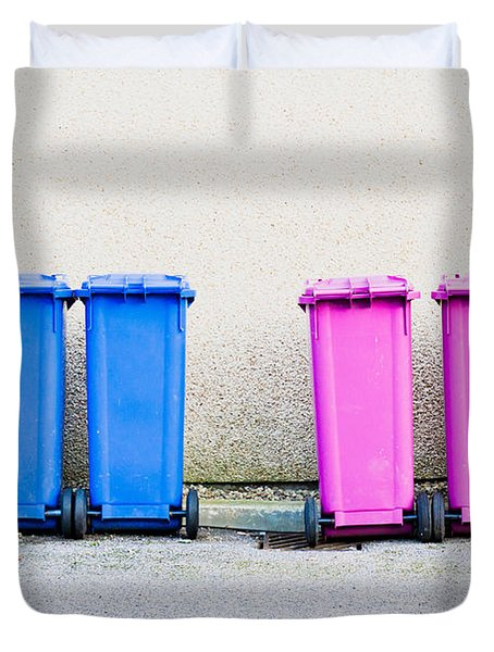 Waste Bins Duvet Cover