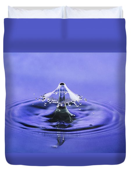 Water Drop Umbrella Duvet Cover