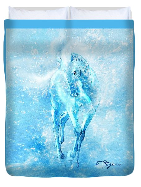 Water Spirit Duvet Cover
