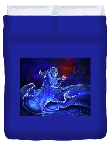 Water Wizard Duvet Cover