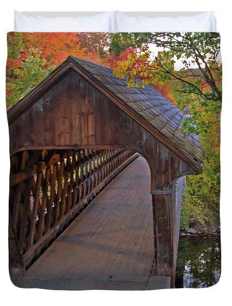 Welcoming Autumn Duvet Cover