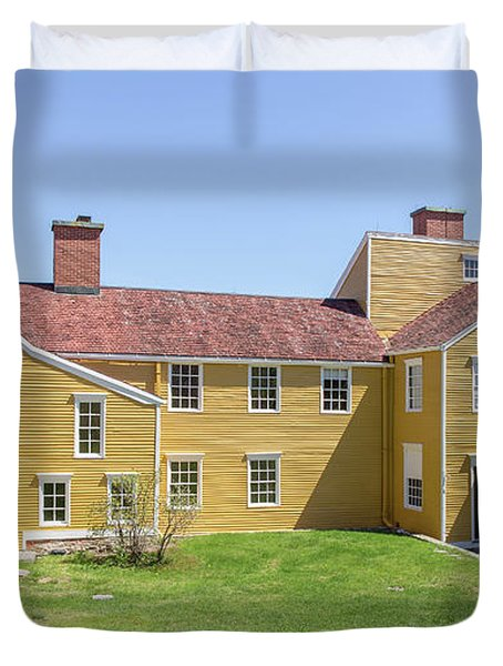 Wentworth-coolidge Mansion Duvet Cover