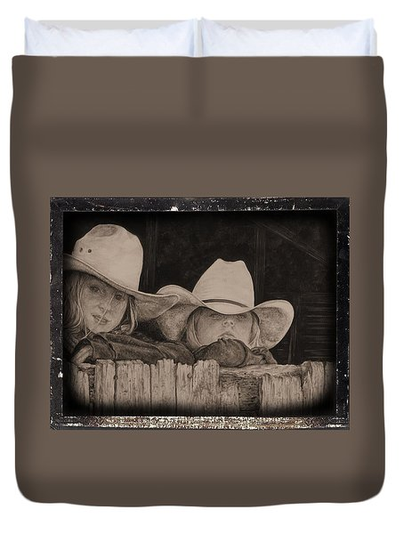 Western Daydreams Duvet Cover