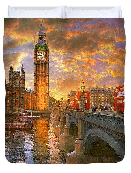 Westminster Sunset Duvet Cover