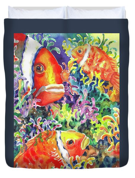 Where's Nemo I Duvet Cover