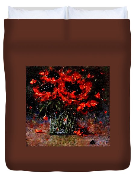 Whispers Of Love  Duvet Cover by Cristina Mihailescu