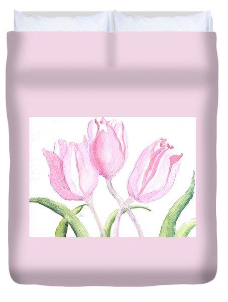 Whispers Of Spring Duvet Cover