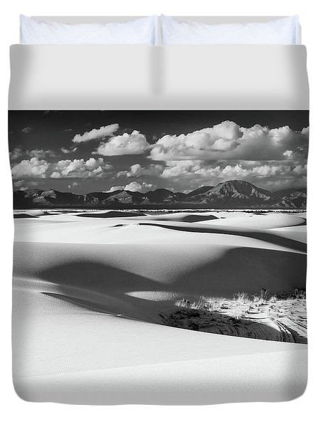 White Sands Afternoon Duvet Cover