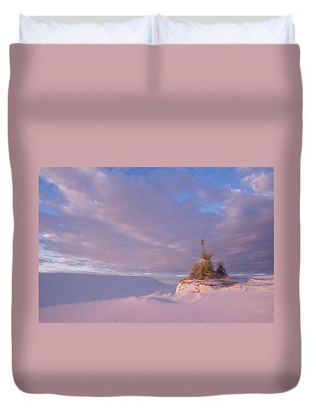 White Sands At Sunset Duvet Cover
