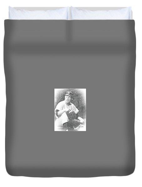 Whitey Ford Duvet Cover