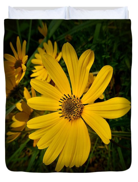 Wild Yellow Duvet Cover