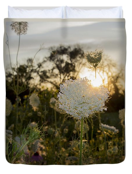 Wildflower Sunset Duvet Cover