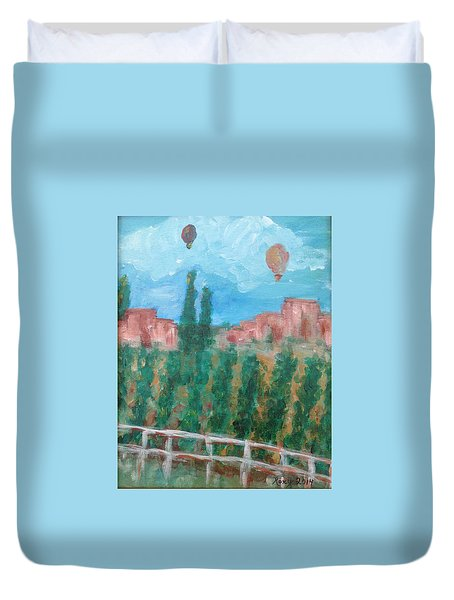 Wine Country Duvet Cover by Roxy Rich